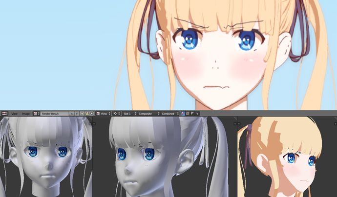 Blender - Texturing and Rendering Anime Characters Tutorial
