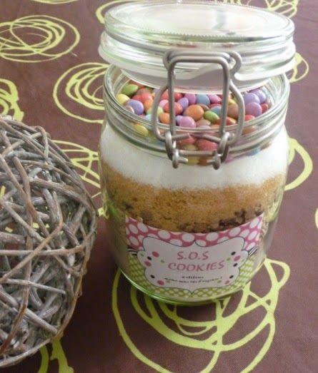 Papilles on/off: Kit SOS cookies aux smarties (cadeau gourmand)