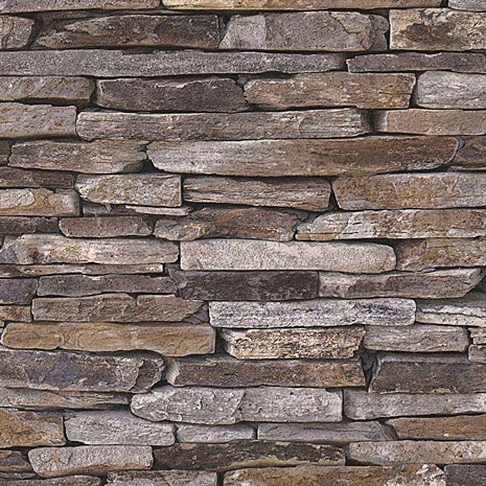 Die besten 25 tapete steinoptik ideen auf pinterest - Bauhaus steinwand ...
