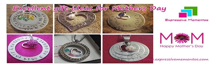 Mothers Day personalised gift ideas. Handcstamp names, dates, messages or quotes for your special mum.  www.facebook.com.au/expressivemementos  Order at www.expressivemementos.com