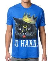 A-Lab Big Kat Blue Tee Shirt #maria #gohard #raver #christmas #crazycatlady