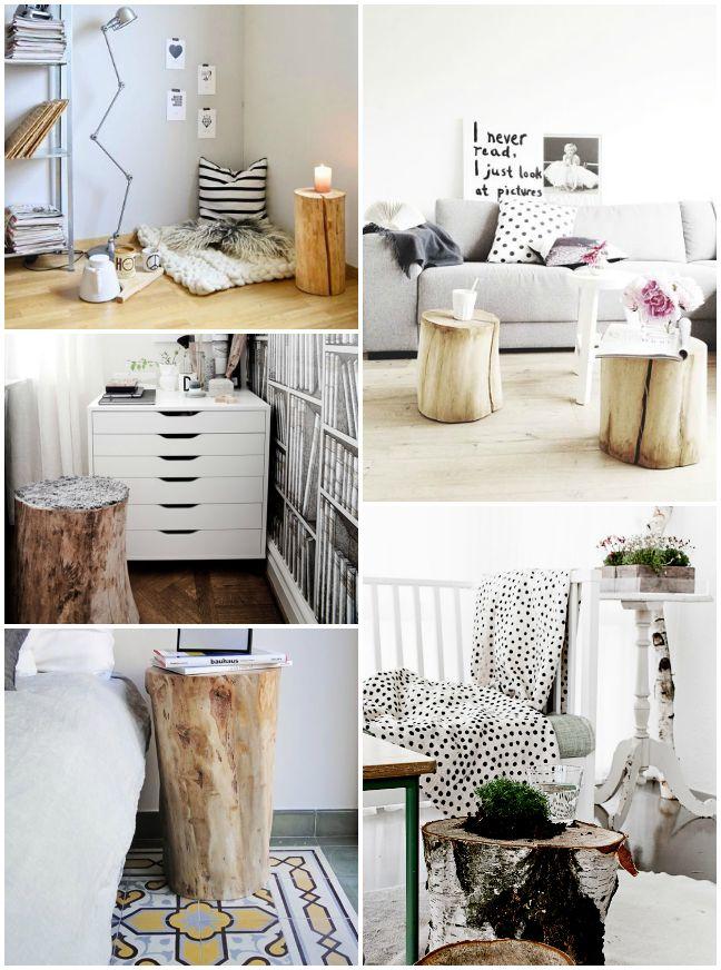 M s de 25 ideas incre bles sobre troncos de madera en for Decoracion muebles jardin