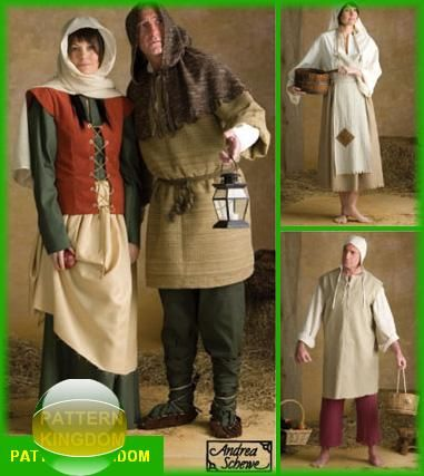 Simplicity 3806 Medieval/Renaissance Peasant Patterns