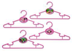Full of character, these Disney Frozen Infant & Toddler Hangers have all sorts of magic woven into their spirited design. Adding icy style to any closet, these plastic hangers feature four unique and colorful scenes with Anna and Elsa in the middle of the hanger. Great for newborn-toddler sized clothes, this 30 pack will help create an organized and enchanted space for your Frozen fan. Set includes 30 hangers Made of sturdy plastic Ultra-slim design that's perfectly sized for ne...