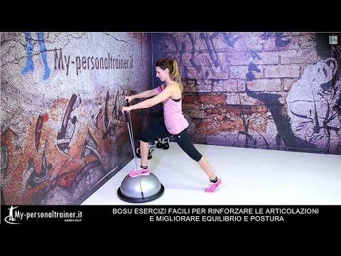 Bosu per Articolazioni Equilibrio e Postura (Esercizi Facili)