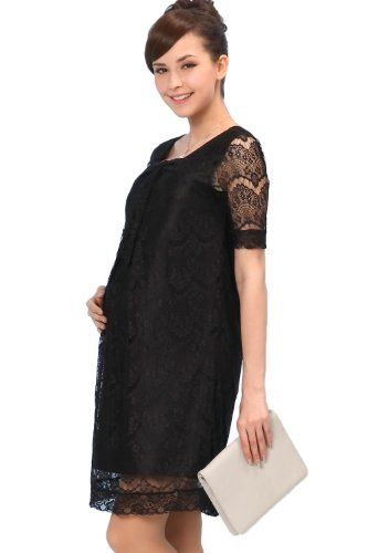 Sweet Mommy Openwork Lacy Maternity and Nursing Formal Dress BKS Sweet Mommy,http://www.amazon.com/dp/B00HRNAU8K/ref=cm_sw_r_pi_dp_56cqtb1TXAQCV22P