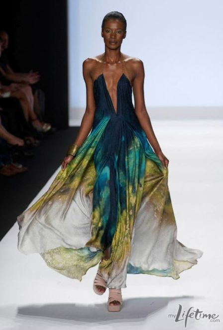 Project runway runway and watercolors on pinterest