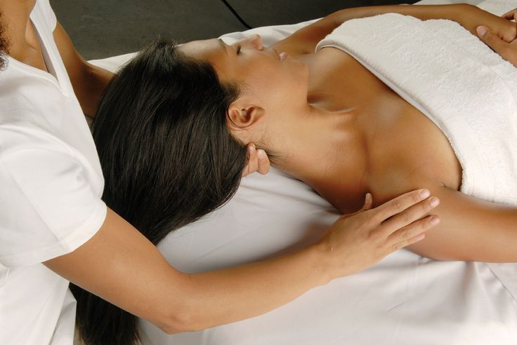 home spa massage therapy treatment