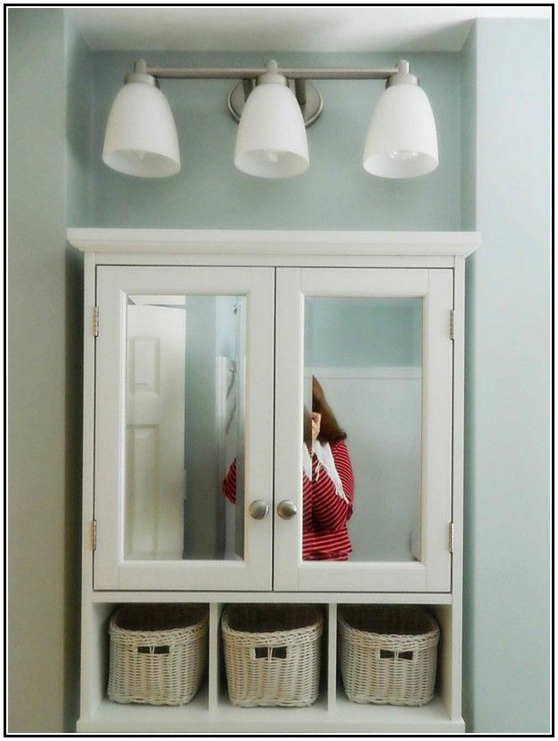 Lowes Bathroom Medicine Cabinets With Mirrors