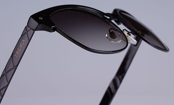 Treyca Clubmaster BlackSunglasses. #Treyca #Sunglasses