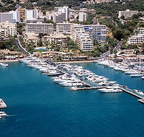 Puerto Portals marina in Mallorca