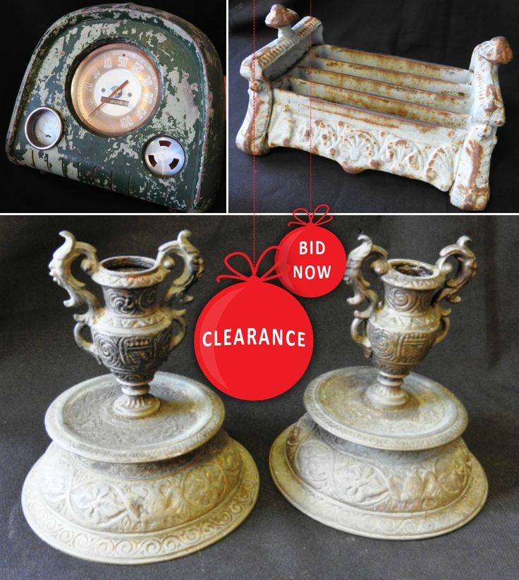 Get in quick before the Antiques and Collectibles Online Auction ends TOMORROW at 7:00 pm!