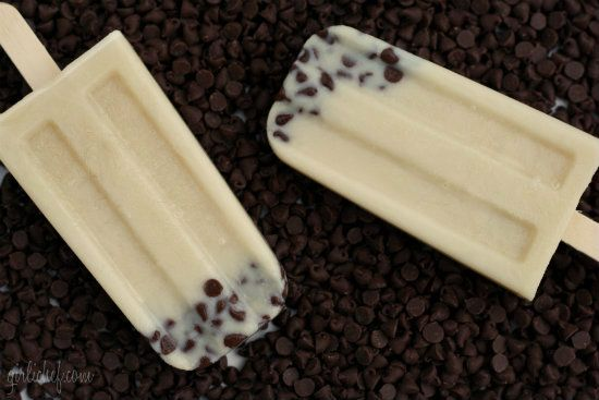 Invisible cookie dough ice pops sound like magic: no actual cookie dough involved. Yum!