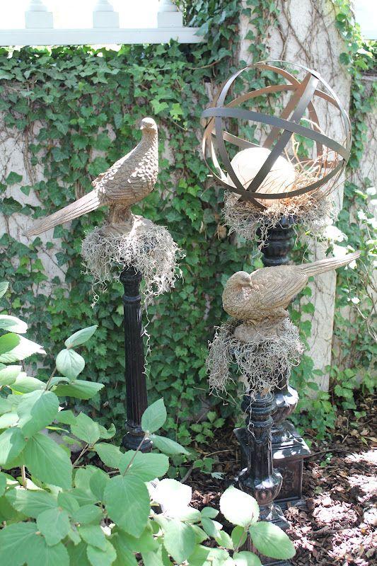 garden finials - Open Garden Decor