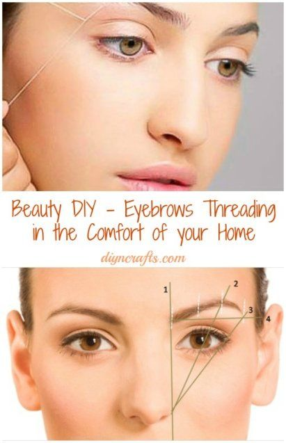 Beauty DIY – Eyebrows Threading in the Comfort of your Home