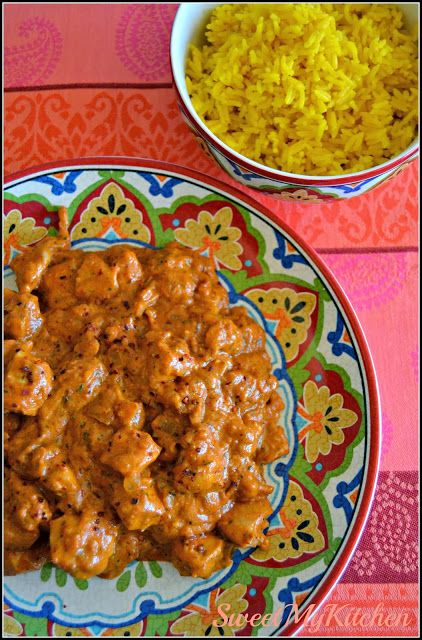 Sweet my Kitchen: Frango tikka masala com arroz de açafrão