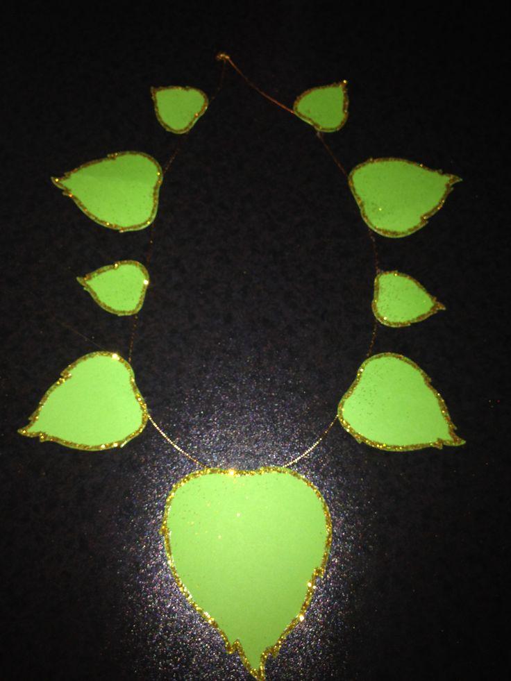 Collana di foglie. By Giusy Cer