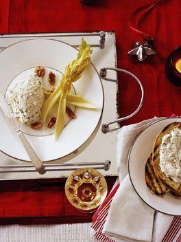 Australian Gourmet Traveller French Christmas recipe for roquefort fondant by Bruno Loubet from Brisbane restaurant Baguette.
