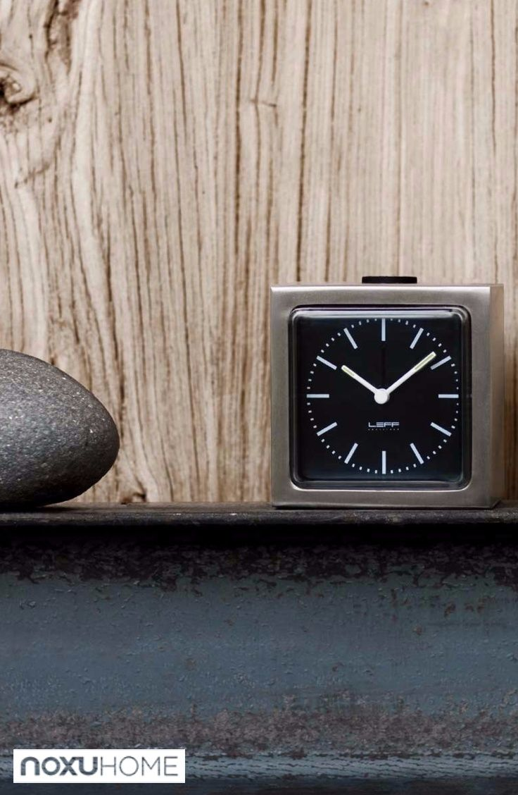 Beautiful in its simplicity, the Block Clock by LEFF Amsterdam is a traditional alarm clock with a superior and stylish build-quality and design. Yours for £55.