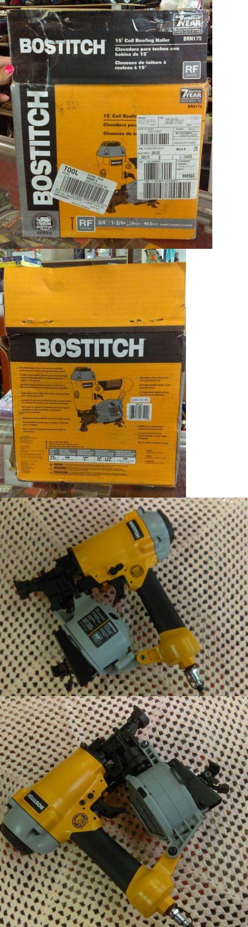 Roofing Guns 42243: Stanley Bostitch Brn175 Bulldog Roofing Nailer 1-3 4 Coil New Open Box -> BUY IT NOW ONLY: $149.99 on eBay!