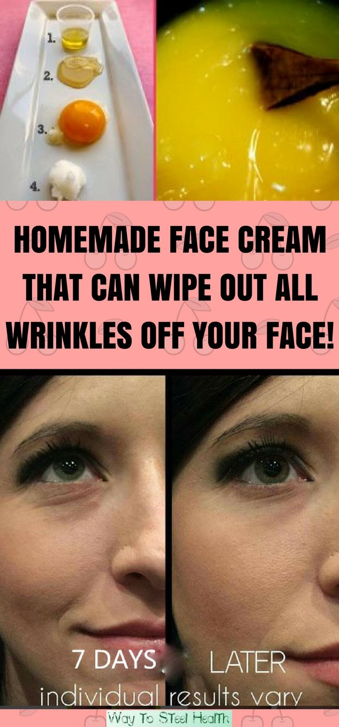 Homemade Face Cream That Can Wipe Out All Wrinkles Off Your Face! Expect Fantastic Effects After Only 7 Days!