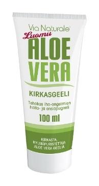 Luomu Aloe Vera Kirkasgeeli 100 ml