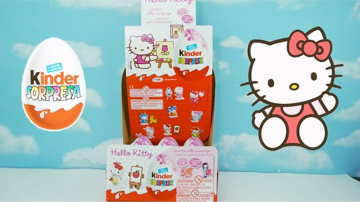 Huevos Kinder Sorpresa Hello Kitty | Kinder Surprise Hello Kitty #kellokittyjuguete #huevosorpresa