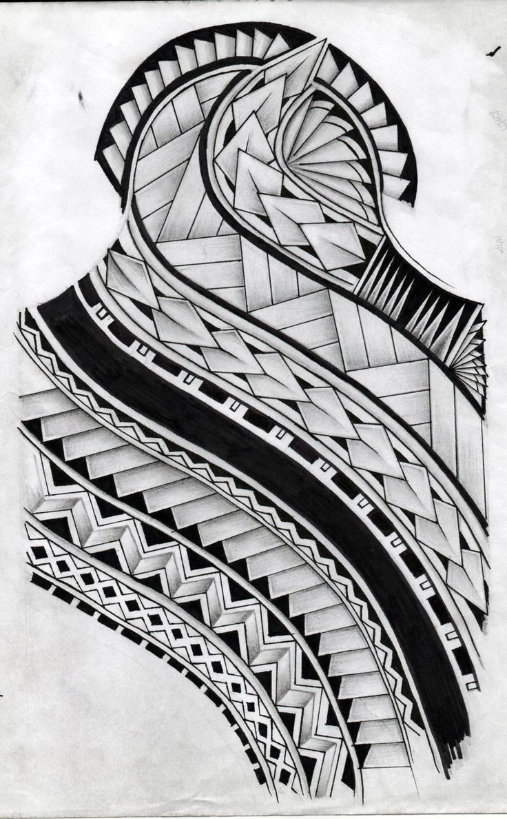 Tattoo design picture - Samoan Tattoo Design By Koxnas Deviantart Com On Deviantart