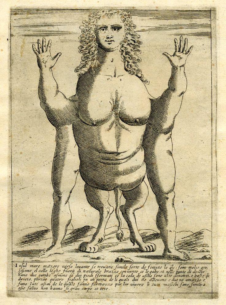 marinni | Старинные книги с рисунками монстров.