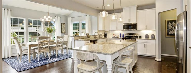 Cook dinner while the kiddos do their homework at the Kitchen island - there's plenty of space!