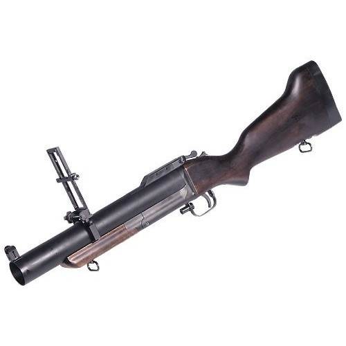 "M79 Grenade Launcher. Check out this product and many more at www.armedpaintbal... Also, check out and ""like"" our facebook page for free giveaways! Simply click on the search bar and type in ""Armed Paintball Inc"" for more information."