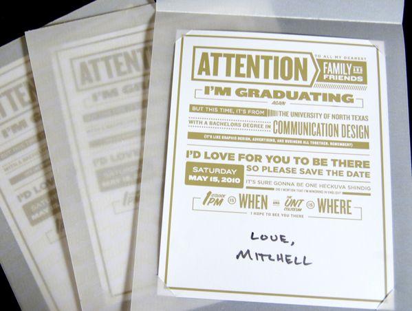 8 best graduation invitations images on pinterest graduation graduation invitations on the behance network via httpbit filmwisefo
