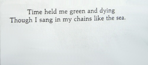 from Fern Hill, Dylan Thomas   Tumblr
