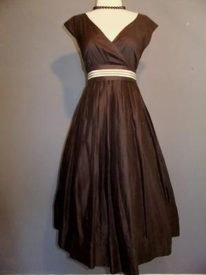 Banana Republic Vtg 50s 60s Style Dress Striped Belt Pinup Rockabilly Retro | eBay