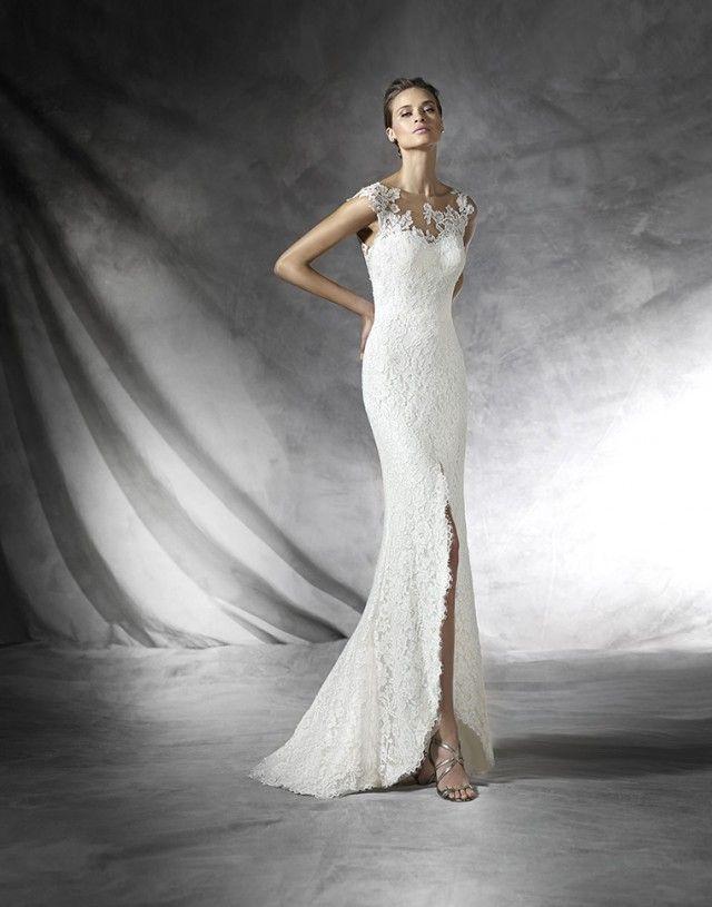 10 best Bruidsjurk modern images on Pinterest | Homecoming dresses ...