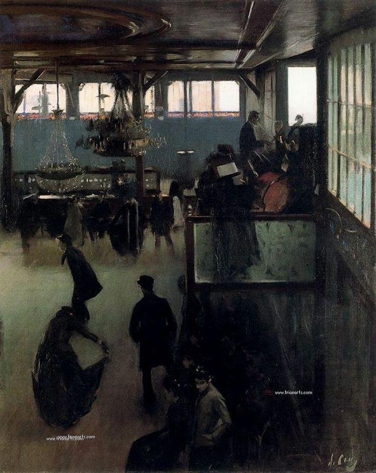 Ramón Casas Carbó: El modernismo catalán en la pintura ......................................... http://trianarts.com/ramon-casas-carbo-el-modernismo-catalan-en-la-pintura/