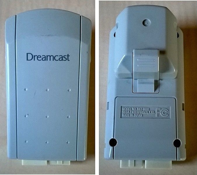 Sega Dreamcast HKT 8600 - original Rumble Pack