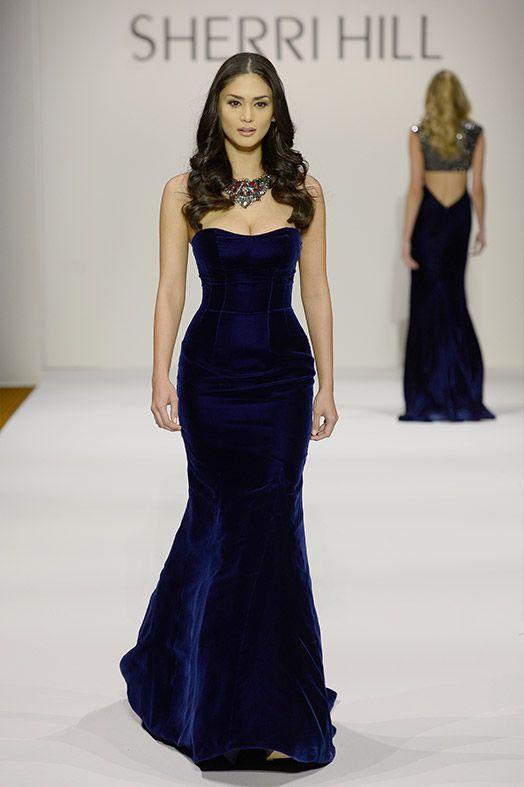 6786a4db5897 New York Fashion Week, February 2016 - Sherri Hill   Gowns   Prom dresses,  Dresses, Fashion