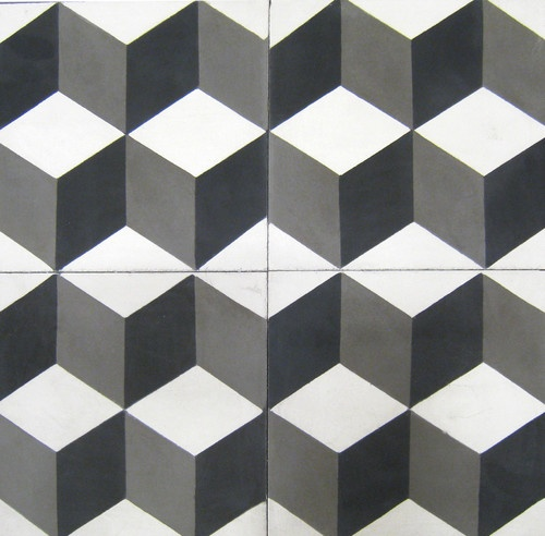 Handmade tiles can be colour coordinated and customized re. shape, texture,  pattern,