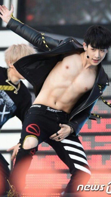 Pin by Anastasia🌸 on Wonho | Wonho abs, Monsta x wonho ...