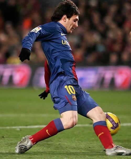Lionel Messi inspired me to play soccer