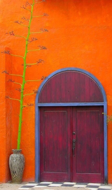 Door in Mexico