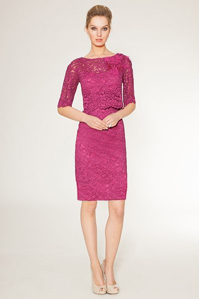 lace magenta dress teri jon 490 way too much but find