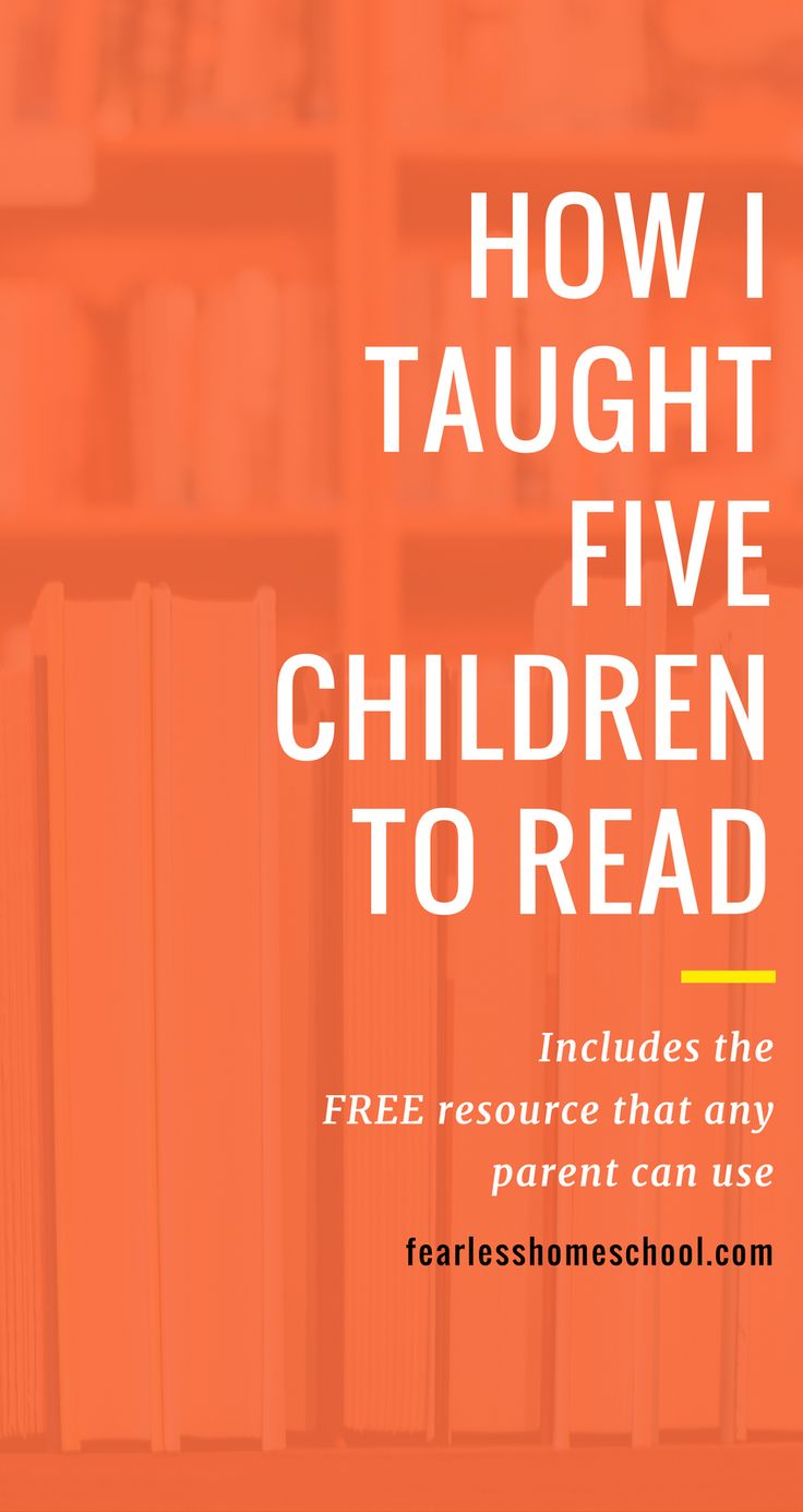 Teaching reading doesn't have to be complicated or difficult - any caring adult can do it! Find out how I did it, and get a fantastic and FREE learn to read system.