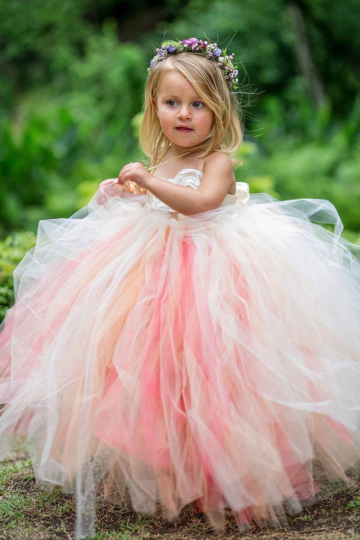 Perfectly Pink Flower Girls | I \'Do | I \'Do | Pinterest | Flower ...