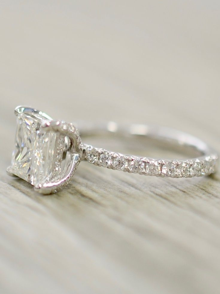 Pin On Pave Engagement Rings