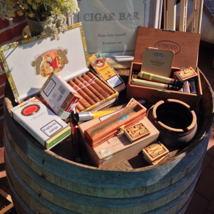 Cigar bar #wedding