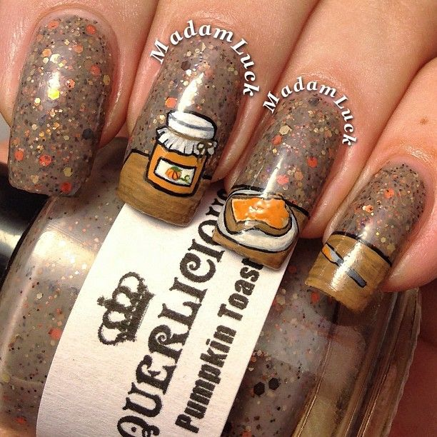 33 best peanut butter images on pinterest peanuts instagram photo by madamluck nail nails nailart prinsesfo Gallery