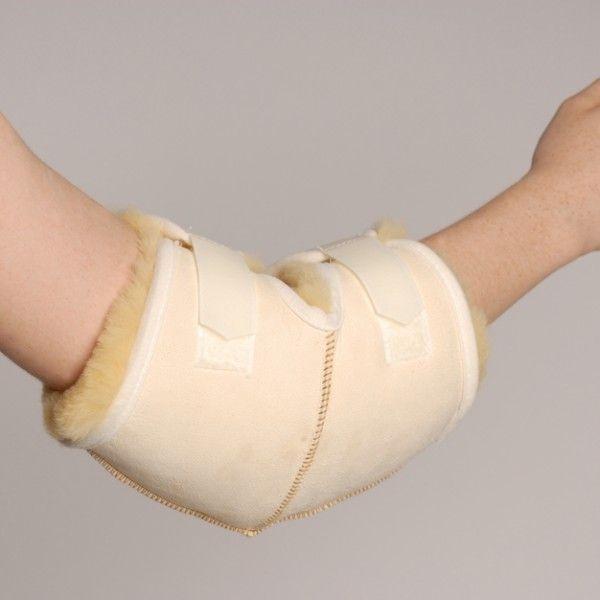 CODERA DE LANA NATURAL - REF: 10520: De pura lana. Previene úlceras de presión. Proporciona alivio del dolor y terapia térmica.