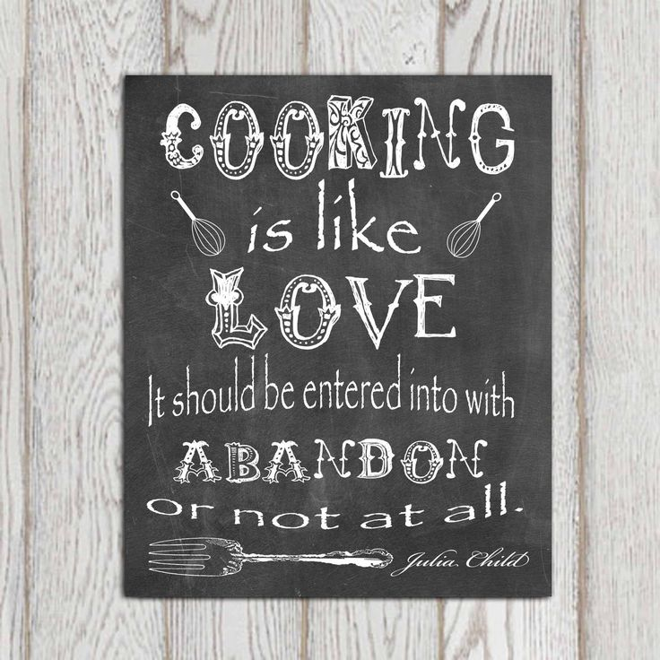 Kitchen Decor Chalkboard Kitchen Wall Art Kitchen By Dorindaart 5 00